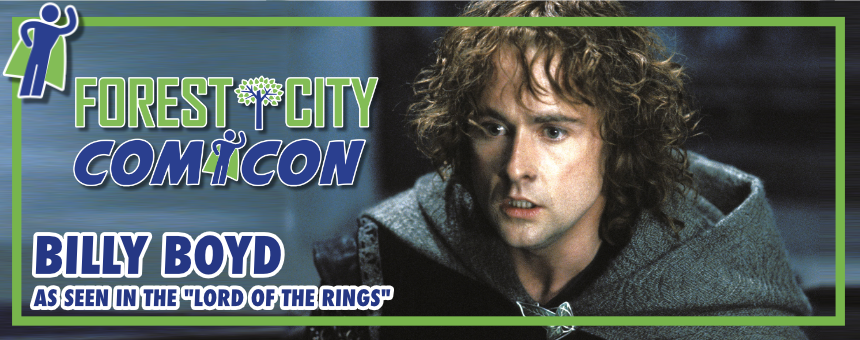 "From ""The Lord of the Rings"": Fans to Meet Billy Boyd in"
