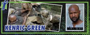 """The Walking Dead's """"Scott"""": Kenric Green"""