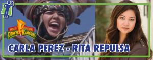 Meet Rita Repulsa from Power Rangers!