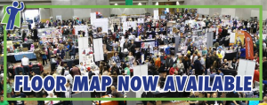 Floor Map & Exhibitor List Now Available!