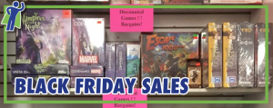 Black Friday Sales from ComiCon Partners!